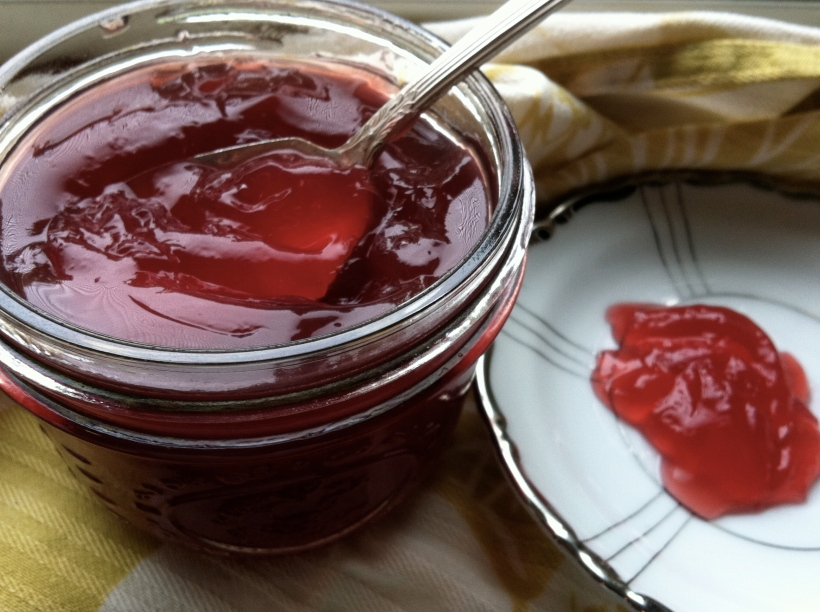 Honeyed Pluot Jelly